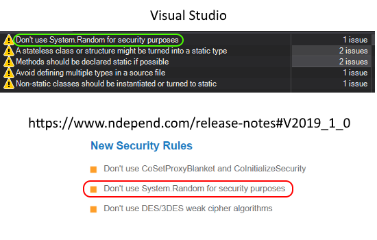 Image showing the introduction of a new security rule